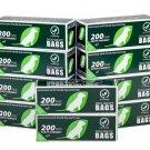 2000 Dog Waste Roll Bags Standard Size - (Park, HOA, Condo, BULK)
