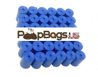 1012 Blue Dog Poop Bags