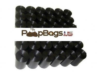 1012 Black Dog Poop Bags