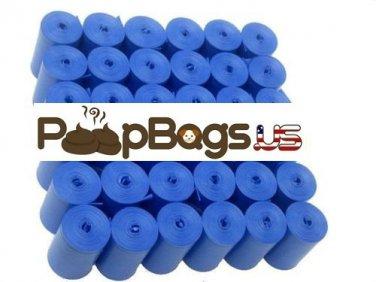 6072 Blue Dog Poop Bags (BULK) + FREE Dispenser