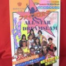 ALL STAR DREAM SLAM strategy guide book / Super Nintendo, SNES *