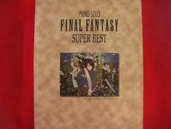 Final Fantasy (II,III,V,VI,VII,VIII) 35 Super BEST Piano Sheet Music Collection Book