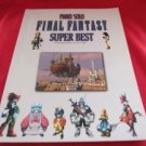 Final Fantasy (II,III,V,VI,VII,VIII,IX) 42 SUPER BEST Piano Sheet Music Collection Book