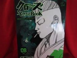 CROWS illustration art book #8 / TAKAHASHI HIROSHI, Anime, Manga