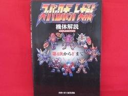 Super Robot Wars explanation illustration art book