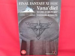 Final Fantasy XI Online Vana' diel world report guide book ver.030625