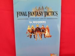 Final Fantasy Tactics beginners strategy guide book