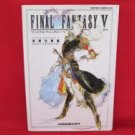 Final Fantasy V 5 basic knowledge art book