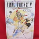 Final Fantasy V 5 perfect strategy guide book