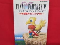 Final Fantasy V 5 strategy guide book
