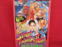 Street Fighter II 2 Turbo complete strategy guide book /SNES