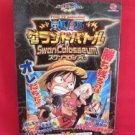 One Piece Grand Battle! Swan Colosseum strategy guide book /WonderSwan