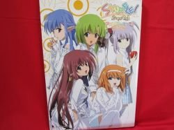 Shuffle! 'anime complete album' illustration art book