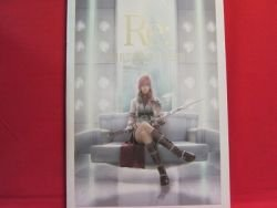SQUARE-ENIX FINAL FANTASY 'Re: riplai' illustration art book w/DVD