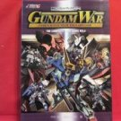 Gundam War Card complete guide book #4 /rare, lot, japan