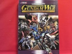 Gundam War Card complete guide book #4 /rare, lot, japan