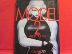 Virtua Fighter 'MODEL 2 Graphics' CG art works book / SEGA Saturn, SS
