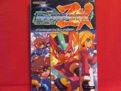 Mega Man ZX official complete guide book / DS
