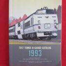 7017 TOMIX N Gauge N Scale Train catalog book 1993