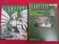 'Clamp No Kiseki' #2 art book w/3 character chess figure
