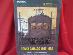 7021 TOMIX N Gauge N Scale Train catalog book 1997 - 1998