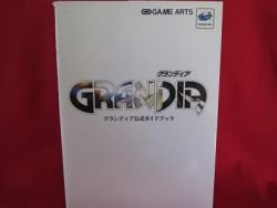 GRANDIA perfect guide book / SEGA Saturn, SS