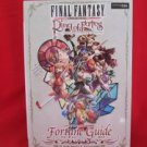 Final Fantasy crystal chronicles Ring of Fates fortune guide book / Nintendo DS