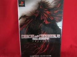 Dirge of Cerberus Final Fantasy VII 7 guide book / Playstation 2, PS2