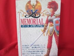 Ys I II III memorial art fan book / Turbo Grafx 16, PC-Engine *