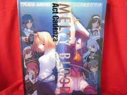 Melty Blood Act cadenza official master guide book / Playstation 2, PS2 *