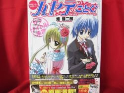 Hayate Combat Butler official guide art book w/poster *