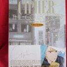 """CIPHER the collection"" illustration art book / Minako Narita *"
