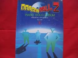 DragonBall Z 30 Piano Sheet Music Collection Book