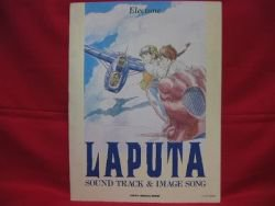 Laputa castle in the sky Electone 22 Sheet Music Collection Book