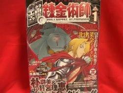 Fullmetal Alchemist official fan art book #1