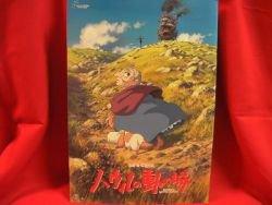 "Studio Ghibli movie ""Howl's Moving Castle"" art book"