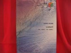 "K-on Keion ""Listen"" Band Score Sheet Music Book"