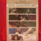 "Final Fantasy BEST (7 to X-2) ""High Rank"" Piano Sheet Music Collection Book"