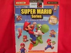 Nintendo Super Mario Series Electone Sheet Music Collection Book