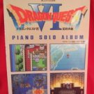 SQUARE-ENIX Dragon Warrior (Quest) VI 6 Piano Sheet Music Collection Book / SNES