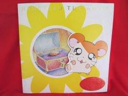 """Hamtaro the movie """"Hamu Hamu Land Daibouken"""" art guide book w/card"""