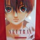 """Sugisaki Yukiru """"NEUTRAL"""" illustration art book"""