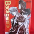 "Kazuya Minekura ""Backgammon #1"" illustration art book"