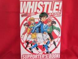 "WHISTLE! ""Supporter's "" illustration art guide book"