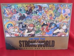 """Anime One Piece the movie """"Strong world"""" illustration art book"""