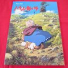 "Howl's Moving Castle ""Middle Rank"" Piano Sheet Music Collection Book"