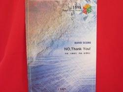 K-on Keion 'No Thank You' Band Score Sheet Music Book