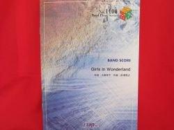 K-on Keion 'Girls in Wonderland' Band Score Sheet Music Book