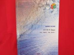 K-on Keion 'Kira Kira Days' Band Score Sheet Music Book