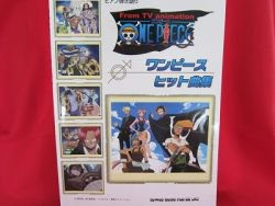 One Piece 16 Piano Sheet Music Collection Book